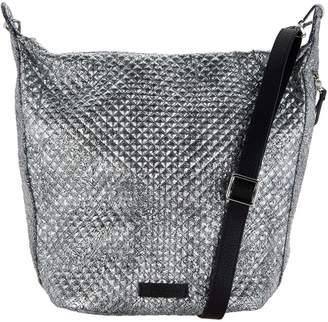 Vera Bradley Carson Metallic Microfiber Zip Top Hobo Handbag