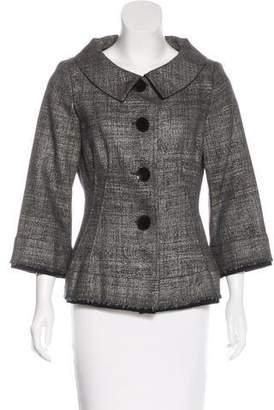 Alberta Ferretti Tailored Wool-Blend Jacket