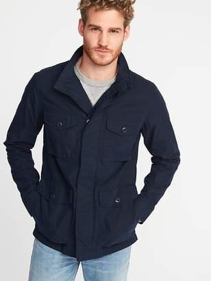Old Navy Nylon-Blend Military Jacket for Men