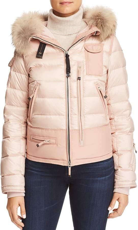 Skimaster Fur Trim Down Coat