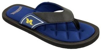 NCAA Georgia Men's Padded Thong Sandals