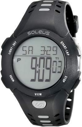 Soleus Men's SR021-008 Contender Digital Display Quartz Grey Watch