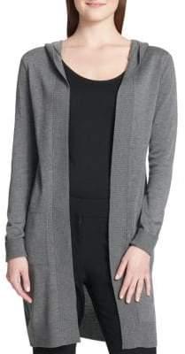 Calvin Klein Long Hooded Cardigan