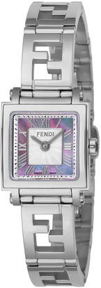 Fendi (フェンディ) - FENDI ウィメンズ ウォッチ フェイスカラー:ピンクパール ベルトカラー:シルバー