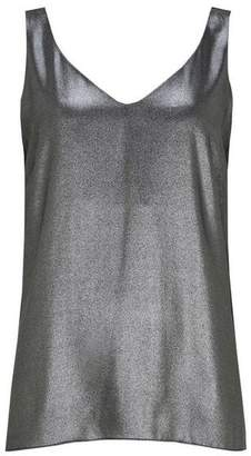 Wallis Silver Foil Camisole Top
