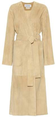 Loewe Suede coat