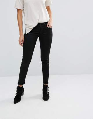 Replay Hyperflex Luz Coated Skinny Jeans