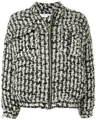IRO Switch oversized tweed jacket