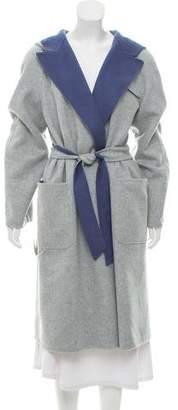 Max Mara Reversible Wool Coat w/ Tags
