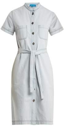 MiH Jeans Kornfield tie-waist denim dress