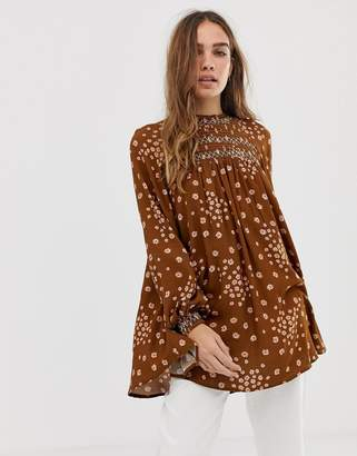 Free People Flower In Her Hair tunic