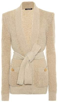 Balmain Wool and alpaca blend cardigan