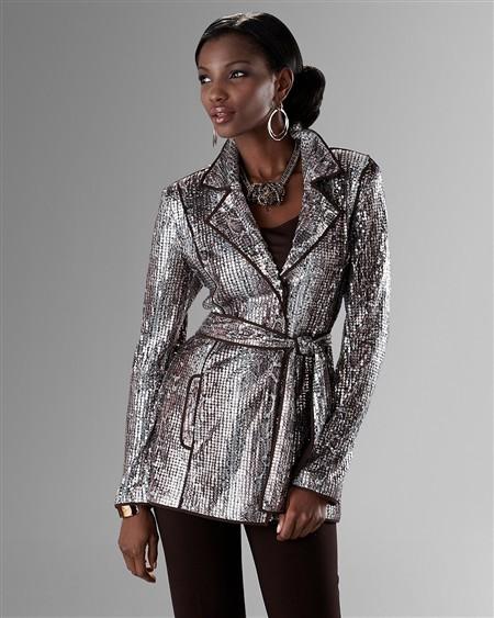 Sequin Snake Ravishing Jacket
