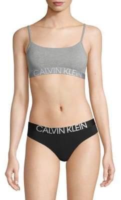 8b967a720bcfa Calvin Klein Statement 1981 Reversible Bralette