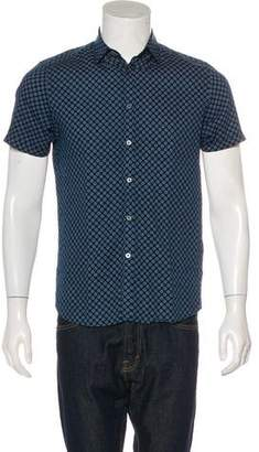 Ted Baker Abstract Print Button-Up Shirt