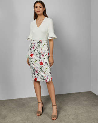 Ted Baker WESA Hedgerow bodycon dress