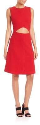 Suno Cutout A-Line Dress