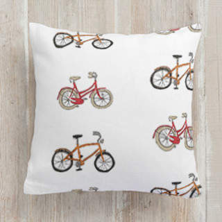 Retro bicycles Self-Launch Square Pillows