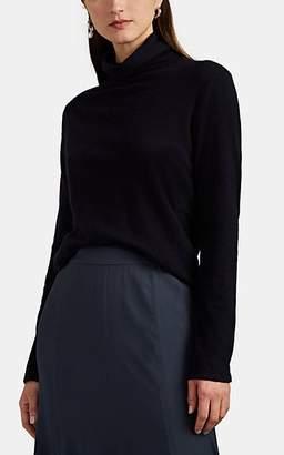 The Row Women's Erita Cashmere Turtleneck Sweater - Navy