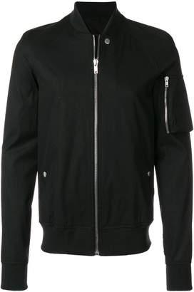 Rick Owens utility bomber jacket