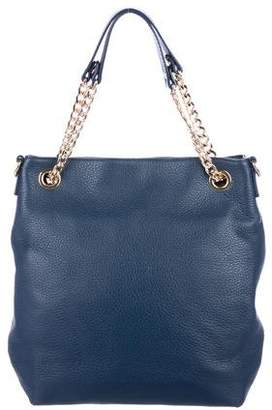 MICHAEL Michael Kors Small Leather Chain-Link Tote
