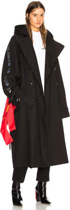 Vetements Plastic Bag Trench Coat