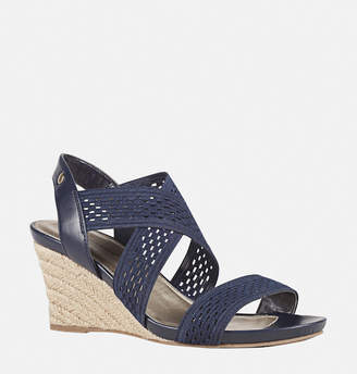 Avenue Lacey Criss Cross Espadrille Wedge