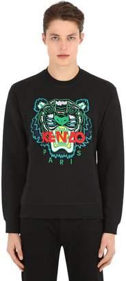 Kenzo Logo Embroidery Crewneck Sweater