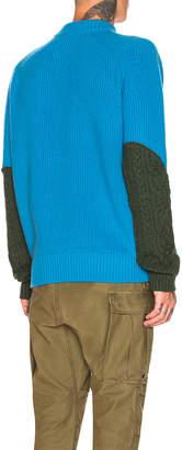 Sacai Wool Knit Pullover