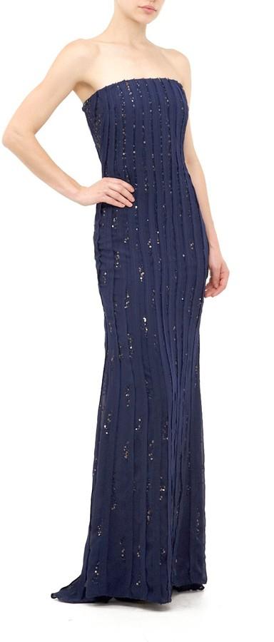 Nicole Miller Bellini Sequins Gown