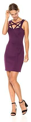 GUESS Women's Bodycon Dress with Cross Detail