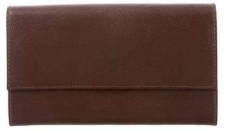 MCM Leather Logo Wallet