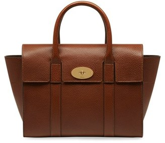 Mulberry 'Small Bayswater' Leather Satchel - Brown $1,250 thestylecure.com