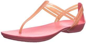 crocs Women's Isabella T-Strap Sandal $22.97 thestylecure.com