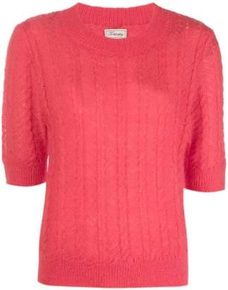 Temperley London cropped sleeves jumper