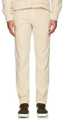 Incotex Men's Cotton Corduroy Slim Trousers - Beige, Tan