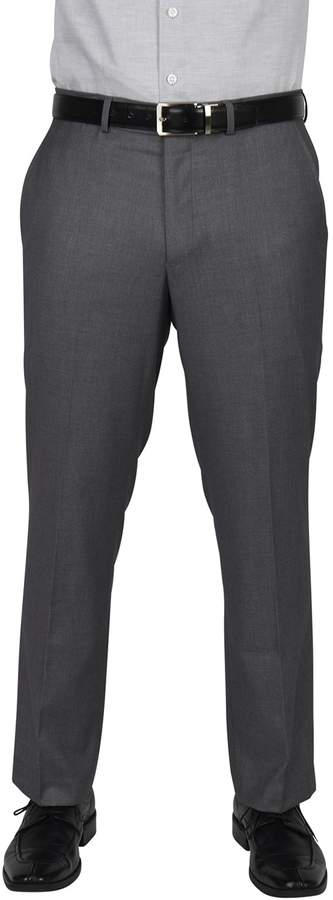 Big & Tall Dockers Modern-Fit Gray Stretch Flat-Front Suit Pants