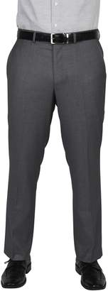 Dockers Big & Tall Modern-Fit Gray Stretch Flat-Front Suit Pants