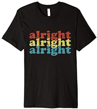 Distressed Alright Repeat Vintage 70s T-Shirt