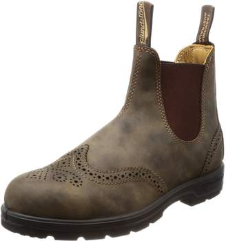 Blundstone Unisex Leather Lined Pull-On Boot Rustic Brn 5 M UK