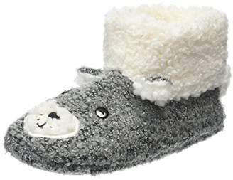 totes Women's Novelty Boot Hi-Top Slippers,S 36/37 EU