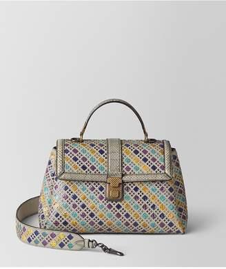 Bottega Veneta Multicolor Intrecciato Stained Glass Piazza Bag