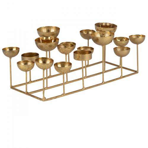 Gift Company Kerzenhalter Medusa S, rechteckig, gold