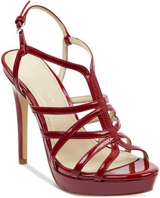 Marc Fisher Jaslyn Caged Platform Dress Sandals Women Shoes