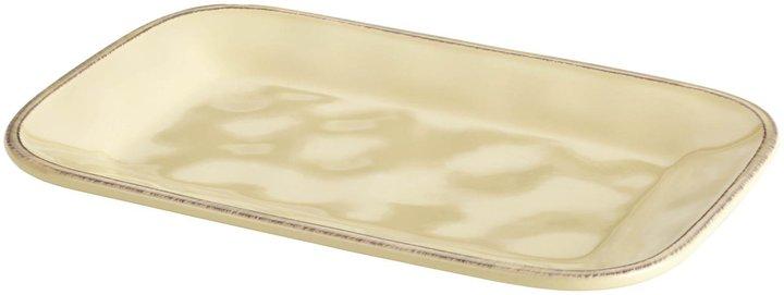 Rachael Ray Cucina Stoneware Rectangular Platter - Almond Cream