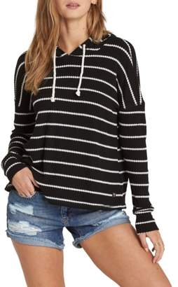 Billabong Lounge Around Stripe Hooded Top