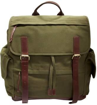 Mancini Large Canvas Backpack
