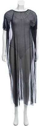 Prism Semi-Sheer Maxi Dress