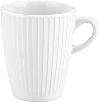 "Pillivuyt Porcelain Mugs ""Plisse"" (Set of 4)"