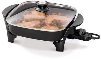 Presto 11-inch Electric Skillet with glass cover